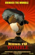 Kung Fun Womble Poster