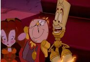 Mr cogsworth tanya and lumiere by jeffersonfan99 dapka7f-fullview