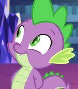 Spike in My Little Pony Equestria Girls- Rainbow Rocks