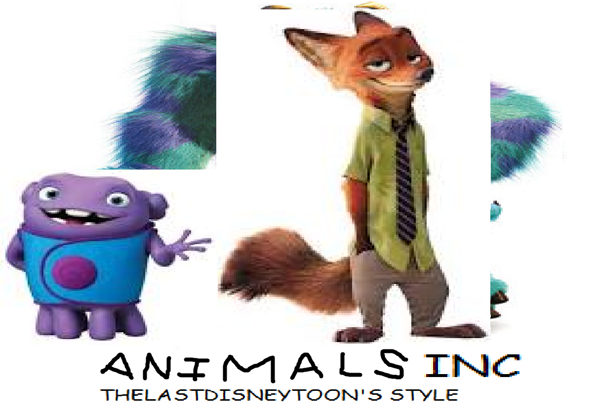 Animals Inc (TheLastDisneyToon and Toonmbia Style)