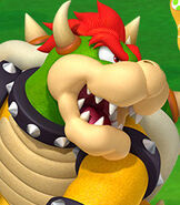 Bowser in Mario Golf- World Tour