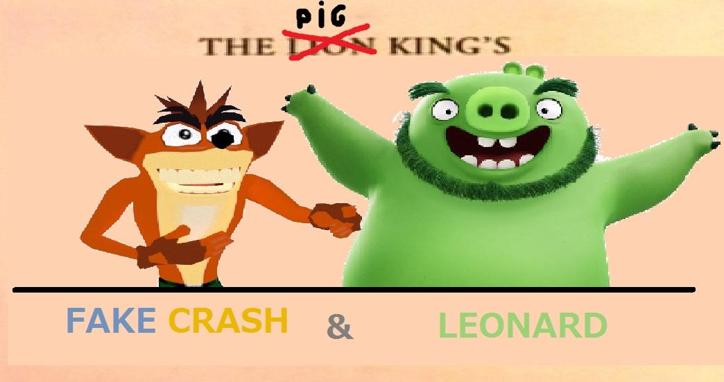 Fake Crash & Leonard