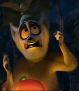 King Julien in Merry Madagascar