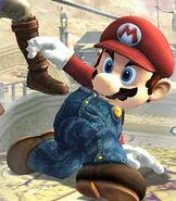 Mario in Super Smash Bros. Brawl
