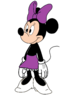 Minnie Mouse Dressed Up as Miss Bianca