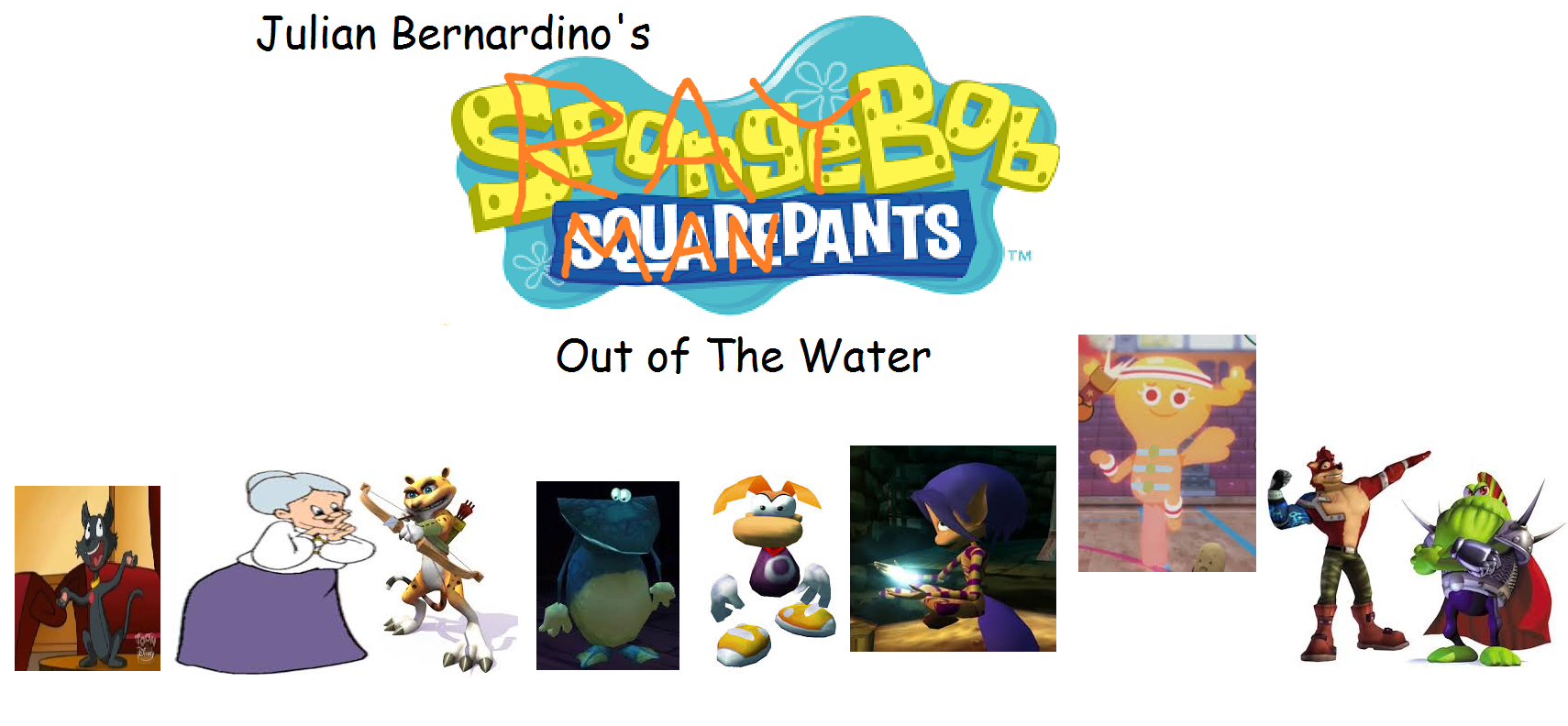 The RayBob ManPants Movie: Limbless Hero Out Of The Water