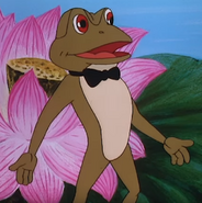 Simba the king lion frog
