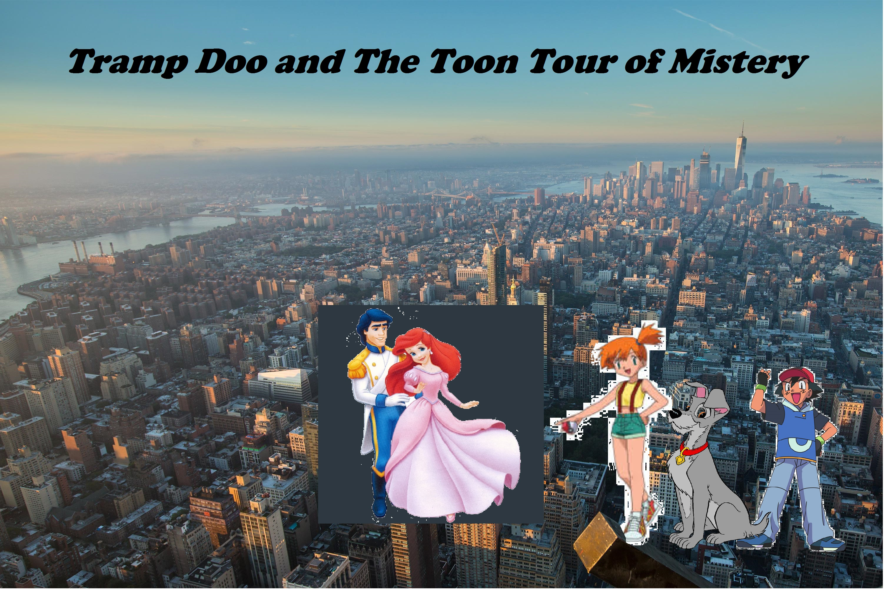 Tramp Doo and the Toon Tour of Mysteries