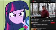 Twilight Sparkle (EG) vs Psycho Dad