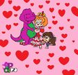 Barney, Dora, and the Queen of Hearts