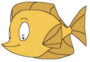 Bubbles the Yellow Tang