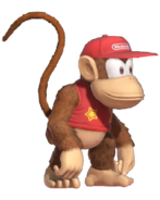 Diddy Kong Render