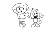 Doodle Dora and Doodle Boots