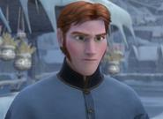 Hans speaking to the Duke