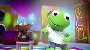 Kermit dances in How Kermit Got His Groove