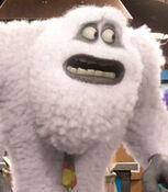 Yeti in Monsters University