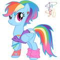 80s Rainbow Dash