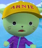 Arnie in Three Little Kittens