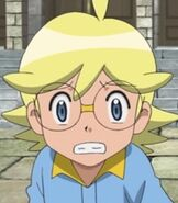 Clemont in Pokemon the Movie Hoopa and the Clash of Ages