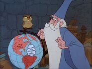 Sword in Stone Merlin and Archimedes