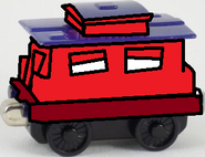 Take Along and Take 'n' Play Toots's Caboose.