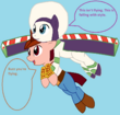 Woody and Buzz Lightyear MLP