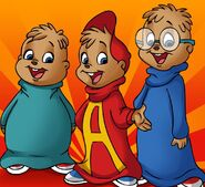 Alvin and the chipmunks cartoon