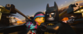 Batman and wyldstyle hands