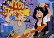 CartoonBill&Ted