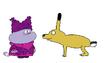 Chowder Meets Black-Tailed Jackrabbit