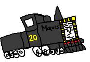 Mavis as Melissa.