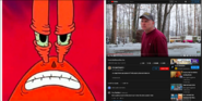 Mr. Krabs vs Psycho Dad