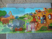 Noah's Ark Seals Deer Rhinos Sheep Hippos Gazelles Camels Kangaroos Pigs Crocodiles Peacocks Giraffes Hedgehogs Ostrichs Elephants Turtles Tortoises Turtles Mice Hens Tigers Flamingos Penguins Zebras Moths Doves Snakes