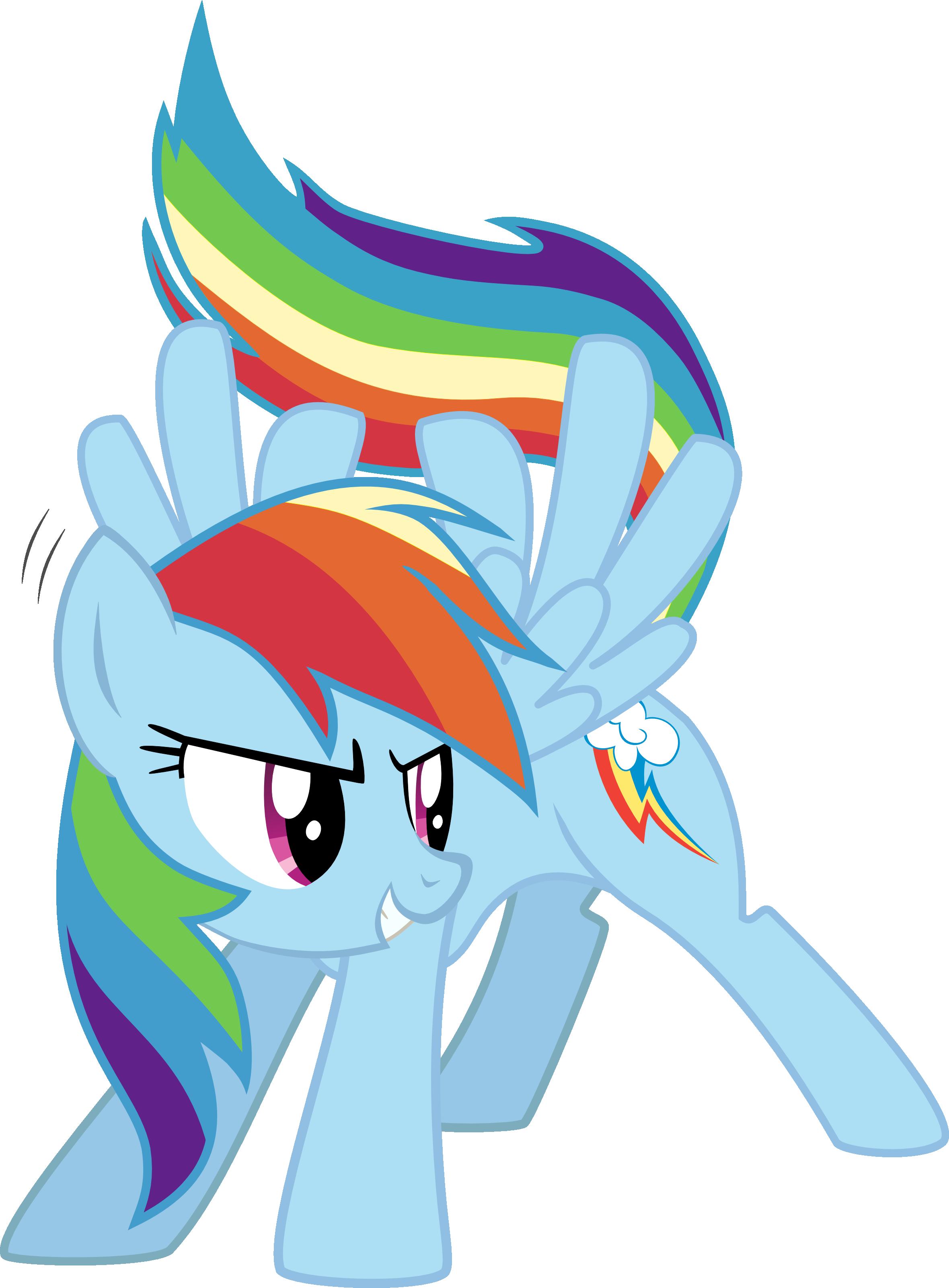 Rainbow Dash (Reqton and Midabbdaiaillou's Adventures)