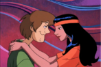 Shaggy Rogers and Crystal
