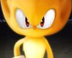 Sonic the Hedgehog's heroic grin
