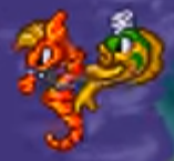 The magical quest 3 mickey and donald's magical adventure seahorse and fish