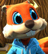Conker in Project Spark
