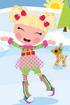 Holly Sleighbells Ice Skating