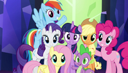 Spike and the Ponies (My Little Pony - The Movie)