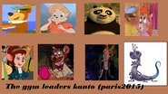 The gym leaders kanto paris2015 style