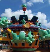 Triceratop Ride