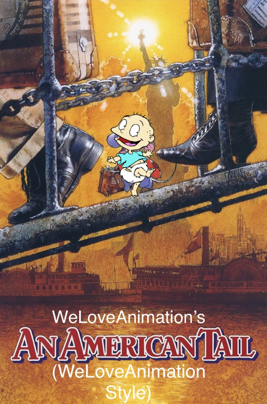 An American Tail (WeLoveAnimation Style)