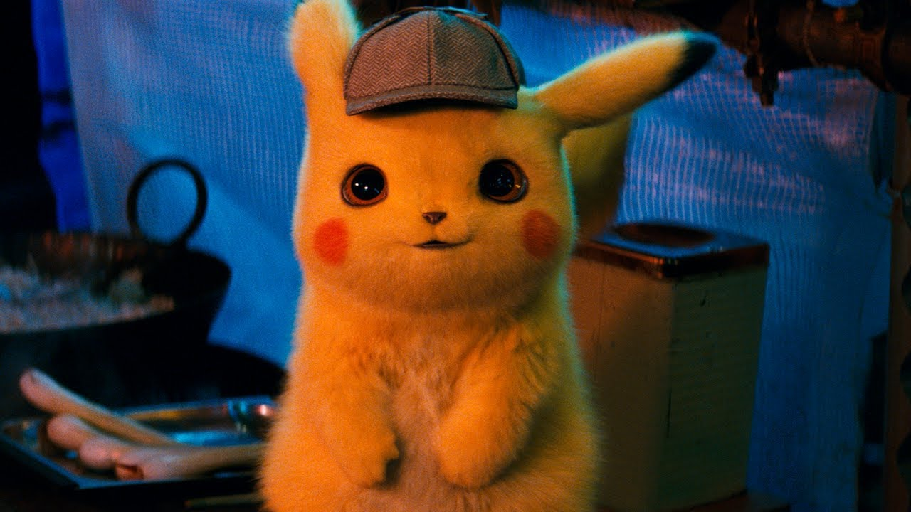 Detective pikachu! The movie