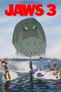 JAWS 3-D (1983) (Davidchannel's Version) Poster