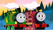 Percy and Rosie by TrainToons