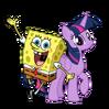 SpongeBob SquarePants and Twilight Sparkle
