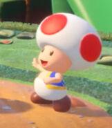 Toad in Mario + Rabbids - Kingdom Battle