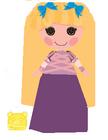 Curls 'N' Locks as Rapunzel