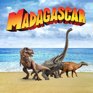 Madagascar dinosaur style